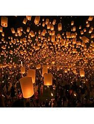 halpa -kuumailmapallo taivaslyhty lentävät lyhdyt haluaa lamppu