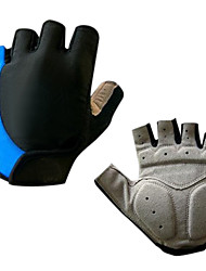 cheap -Cycling Gloves Fingerless Breathable Silicone Gel Cushioning Half Finger Gloves