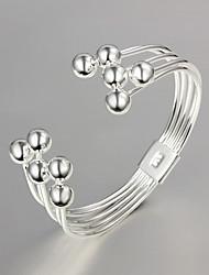 Bracelet Bracelets Rigides Argent sterling Autres Original Mode Mariage Soirée Quotidien Décontracté Bijoux Cadeau Argent,1pc