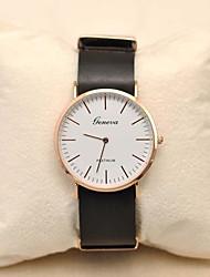 cheap -Women's Quartz Wrist Watch Hot Sale PU Band Charm Fashion Multi-Colored