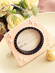 Pink mini Handbag Photo Frame, Table Place card holder Wedding décor, party decoration