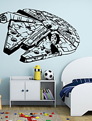 cheap -W-25Star Wars Wall Art Sticker Wall Decal DIY Home Decoration Wall Mural Removable Bedroom Sticker