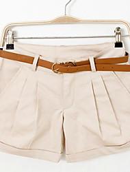 Feminino Chique & Moderno Cintura Baixa Sem Elasticidade Jeans Calças,Sólido,Férias