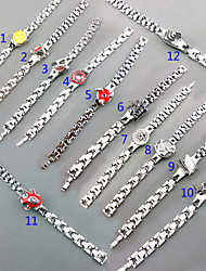 Jewelry Inspired by Attack on Titan Cosplay Anime Cosplay Accessories Bracelet Silver Alloy Male