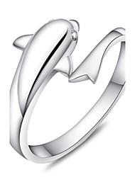 Кольца Регулируется Для вечеринок / Повседневные Бижутерия Стерлинговое серебро Женский Классические кольца 1 комплект,Регулируется