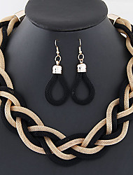 cheap -Women's Wedding Party Daily Casual Alloy Earrings Necklaces