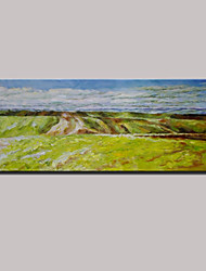 cheap -Hand-Painted Classic Abstract Landscape Oil Painting On Canvas One Panel Ready To Hang