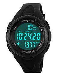 cheap -Skmei®Women Outdoor Sports Multifunction LED Watch 50m Waterproof Assorted Colors Cool Watches Unique Watches