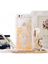 abordables -Funda Para Apple iPhone X iPhone 8 iPhone 8 Plus iPhone 6 iPhone 6 Plus Líquido Transparente Funda Trasera Brillante Dura ordenador