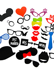cheap -Others Photo Booth Props Party Accessories Christmas Wedding Halloween Birthday Graduation Party / Evening Engagement Prom New Year Baby