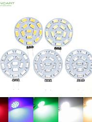 Недорогие -SENCART 5 шт. 7 W 700-900 lm G4 Точечное LED освещение MR11 15 Светодиодные бусины SMD 5630 Диммируемая Тёплый белый / Естественный белый / Красный 12 V / 24 V / 9-30 V / RoHs