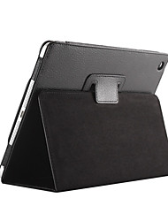 cheap -Case For iPad 4/3/2 with Stand Auto Sleep / Wake Full Body Cases Solid Color PU Leather for iPad 4/3/2