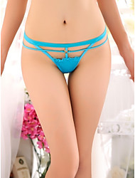Women's Sexy Nylon / Ice Silk Panties G-strings & Thongs Underwear T-back Women's Lingerie