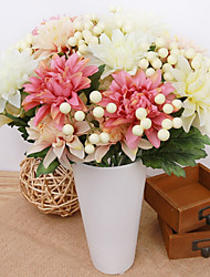 Colour Tie-In Dahlia Wild Fruit Combined Bouquet Artificial Flower