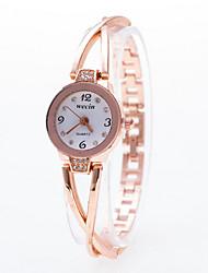 Недорогие -Жен. Модные часы Часы-браслет Кварцевый Группа Elegant