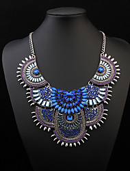cheap -Women's Jewelry Luxury Festival/Holiday European Statement Necklace Bib necklaces Acrylic Resin Alloy Statement Necklace Bib necklaces ,