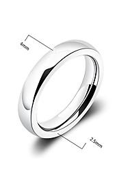 Prstýnky Párty / Denní / Ležérní Šperky Postříbřené Dámské Široké prsteny 1ks,7