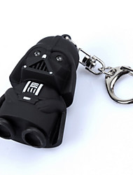 cheap -LED Flashlight keychain Darth Vader Star War Yoda Keychains Anakin Skywalker figure keychains
