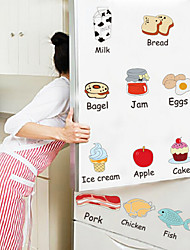 cheap -Landscape Christmas Decorations Florals Holiday Wall Stickers 3D Wall Stickers Decorative Wall Stickers Fridge Stickers, Vinyl Home
