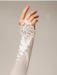 Satin Elbow Length Glove Bridal Gloves