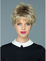 individuation  Ladys'  Short Synthetic Hair Wave Wig