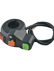 baratos -interruptores de plástico e metal motocicleta virar sinal combinado interruptor da buzina farol