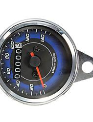 Недорогие -мотоцикл привело одометра& тахометр метр колеи 0-140km / ч
