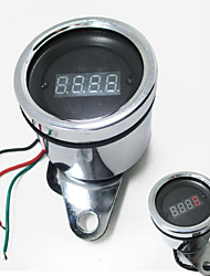 cheap -12v Motorcycle Scooter ATV LED Digital Tachometer Universal Tacho Gauge