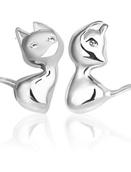 cheap -Men's / Women's Stud Earrings - Sterling Silver For Wedding / Party / Daily