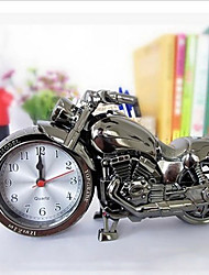 Quartz Table Clock Cool Alarm Clock Timepiece Desktop Motorcycle Design Time Keeper Timepiece