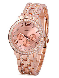 cheap -Women Lady Gold Watch Rose Gold Quartz Watch