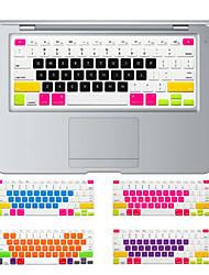preiswerte -bunte Bonbons Design Silikontastatur-Abdeckungshaut für macbook Luft 13.3, MacBook Pro mit Retina 13 15 17 US-Layout
