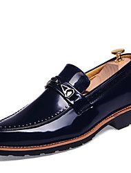 Men's Shoes Casual/Office/Wedding Fashion Trend Leather Shoes Black/Red/Brown/Bule