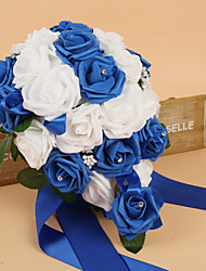 "cheap -Wedding Flowers Bouquets Wedding Silk Foam 12.6""(Approx.32cm)"