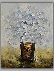 cheap -Oil Painting Hand Painted - Still Life Modern Canvas