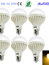 economico -E26/E27 Lampadine globo LED B 15 leds SMD 5630 Decorativo Bianco caldo 700lm 3000K AC 220-240V