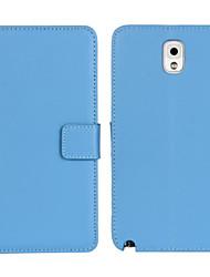 povoljno -Θήκη Za Samsung Galaxy Samsung Galaxy Note Novčanik / Utor za kartice / sa stalkom Korice Jednobojni PU koža za Note 3