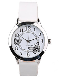 cheap -Exquisite Fashion Rhinestone Butterfly Pattern Belt Quartz Female Fashion Tble Cool Watches Unique Watches Strap Watch