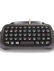 abordables -KingHan Bluetooth Souris et claviers - PS4 Bluetooth Mini Manette de jeu Rechargeable Clavier Sans fil
