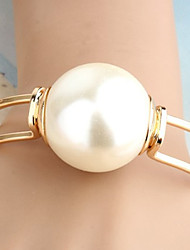 cheap -Women's Pearl Cuff Bracelet - Pearl Statement, Unique Design, Fashion Bracelet Golden For Christmas Gifts Party Daily