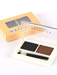 cheap -2 Dry Powder Long Lasting Natural Waterproof Eye