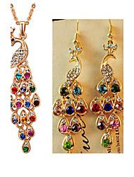 cheap -Women's Jewelry Set Luxury Vintage Party Fashion Party Special Occasion Anniversary Birthday Gift Gemstone & Crystal Rhinestone Imitation