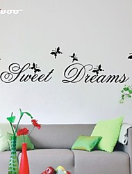 cheap -AWOO® New Pattern Sweet Dreams Wall Sticker Group On Behalf Of English customization