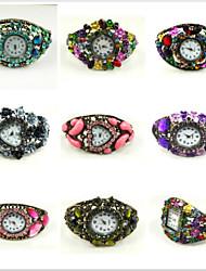 cheap -One One Bridal Women's Digital Wrist Watch Hot Sale Alloy Band Charm Fashion