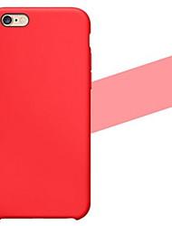 cassa molle del silicone liscia per il iphone 6S 6 Plus