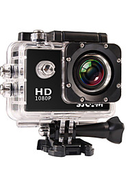 cheap -SJCAM SJ4000 Sports Action Camera 12MP 4000 x 3000 Multi-function Waterproof Wide Angle LCD 30fps 4x 2 CMOS 32 GB H.264 English French