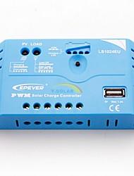 epsolar 10a PWM regolatore di carica solare regolatore della batteria 12V / 24V con usb