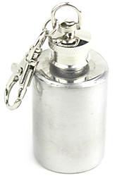 Mini Stainless Steel Wine Pot Key Chain 1oz