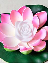 abordables -cadeau du jour de valentine conduit rose extérieure vœux lanternes piscine décoration souhait imperméable eva Lampe