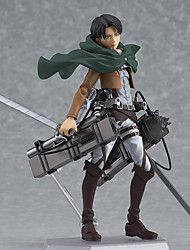 Anime Action Figures Inspired by Attack on Titan Eren Jager PVC 14 CM Model Toys Doll Toy